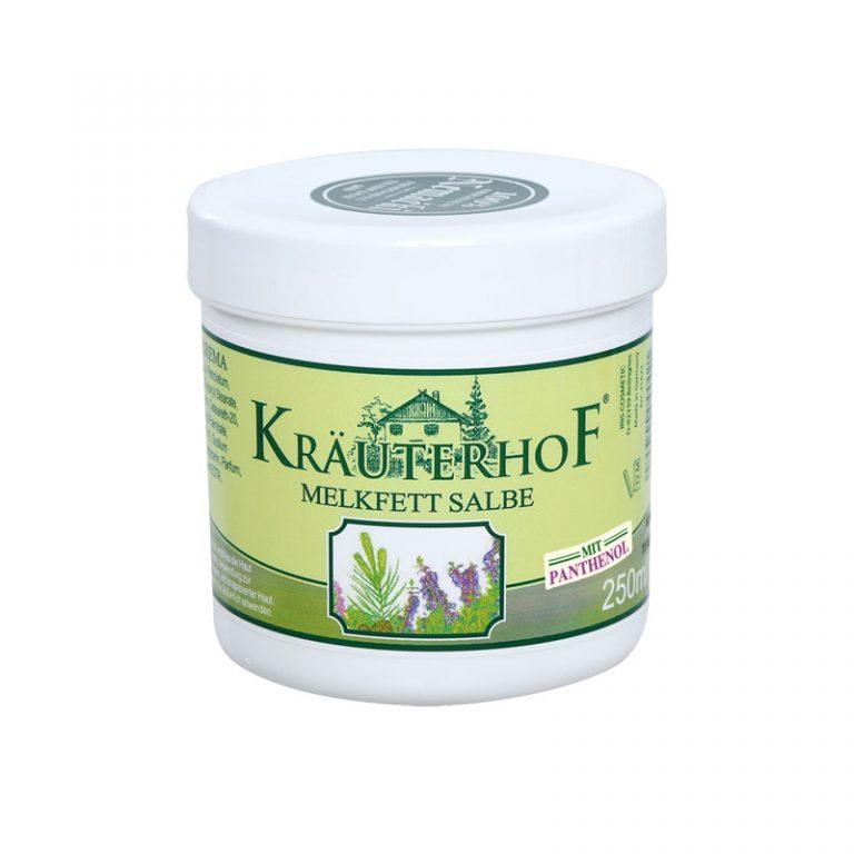 Kräuterhof млечна крема со пантенол